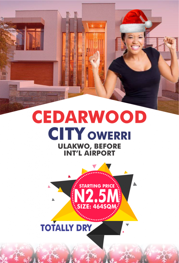 Cedarwood City Owerri.
